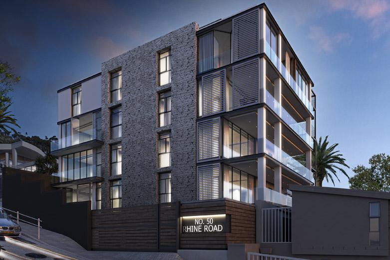 50 Upper Rhine Road apartment complex